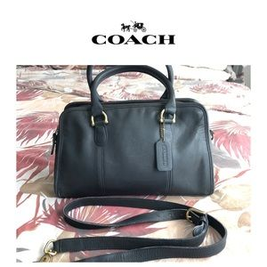Coach 9871 Beaumont Navy Blue Leather Doctor Bag